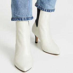 JOIE | Rali Booties Ivory Leather 40 / 10